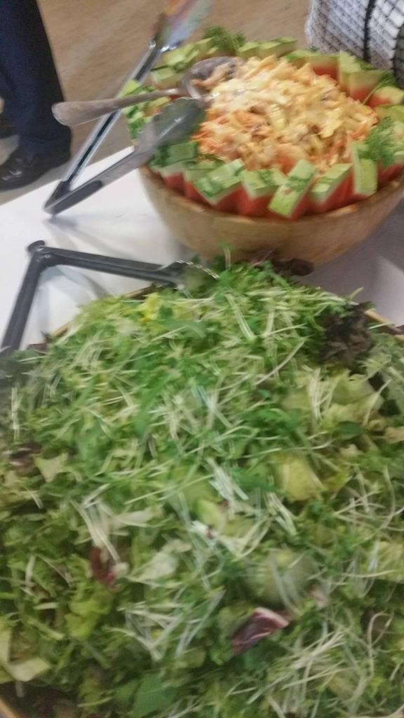 Homemade Mixed Leaf Salad