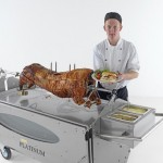 Spittingmn Pig North Wales Chef