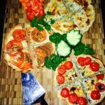 Homemade Vegetarian Option – Spanish Quiche