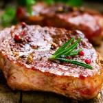 Freshly prepaired meat
