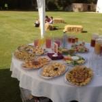 Summer Wedding Catering
