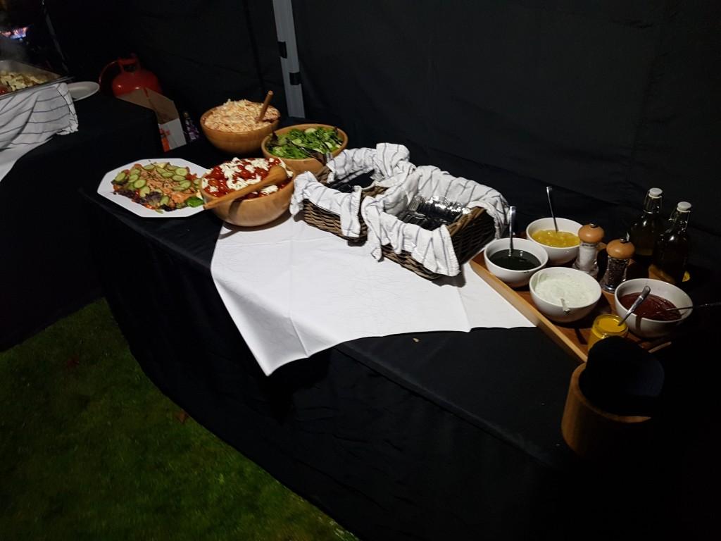 Hog Roast Catering Set Up