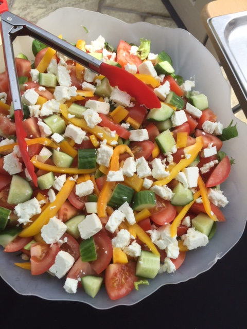 Fresh Home Made Salad