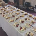 Homemade Desserts For A Wedding