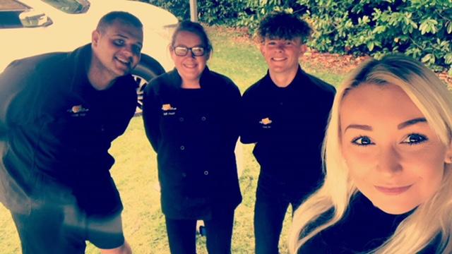 Team Selfie
